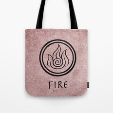 Avatar Last Airbender Elements - Fire Tote Bag