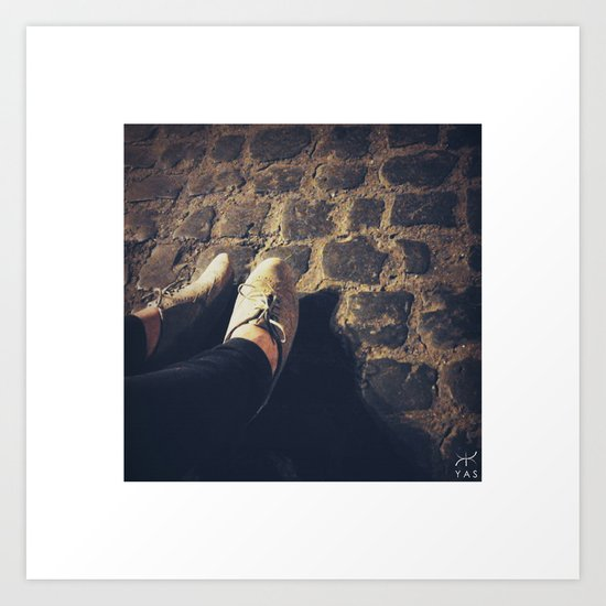 female feet #1 Art Print