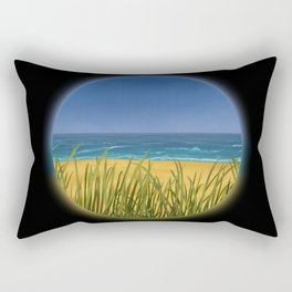 World Within Me - Beachside Rectangular Pillow