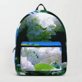 Blue Snowball Branch Backpack