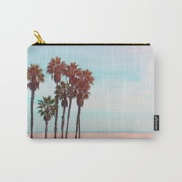 Palm Trees - Beach - California - Nature Photography Carry-All Pouch
