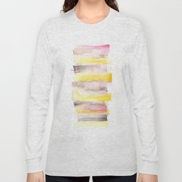 [161216] 20. Sorbet |Watercolor Brush Stroke Long Sleeve T-shirt