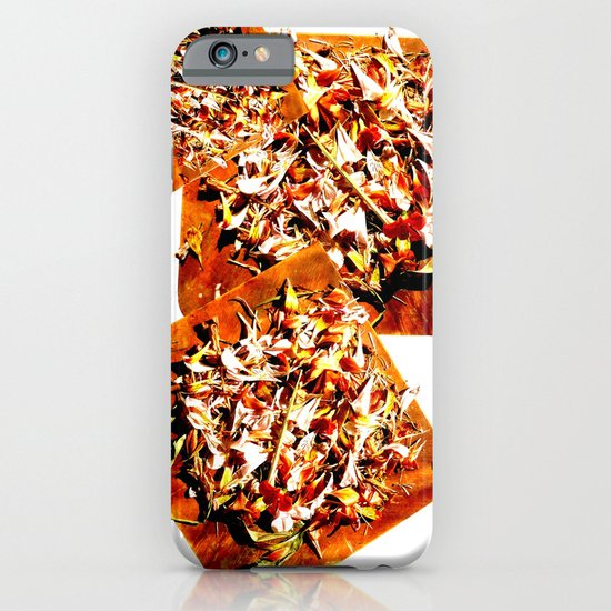 Flowers on a table 2 iPhone & iPod Case