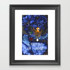 Kettle of Fish Framed Art Print