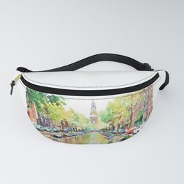 Amsterdam Canal 2 Fanny Pack