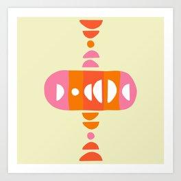 Storm Calka Sixties Art Print