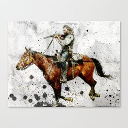 Western Outlaw Cullen Bohannon Canvas Print