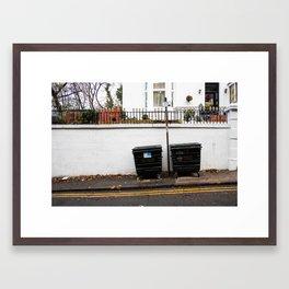 Surface Tension: 310 Renfrew Street Framed Art Print