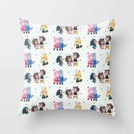 New Leaf Throw Pillow