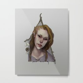 Hedge Witch 1 Metal Print