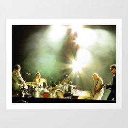 Four U2 Art Print