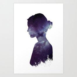 Ballerina Nebula Art Print
