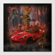 Driving Into A Strange New World Canvas Print