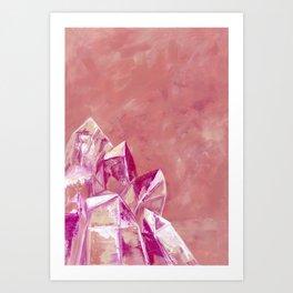 The Heartist, Rose Quartz Art Print