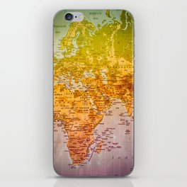 Colorful World iPhone Skin