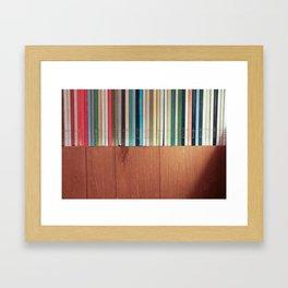 BOOKHORIZON Framed Art Print