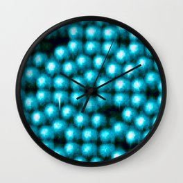 Even On An Atomic Level There Is No Perfection Wall Clock
