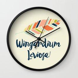 Wingardium leviosa! Wall Clock