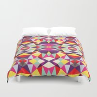 disco Duvet Covers featuring Disco Tribal by Beth Thompson
