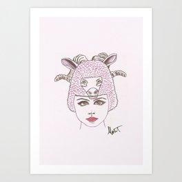Animalia 2 Art Print