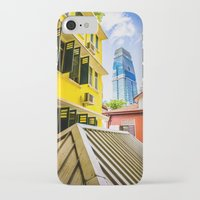 singapore iPhone & iPod Cases featuring Singapore by Jiunn