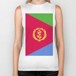 Eritrea flag emblem Biker Tank