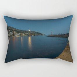 Dubrovnik Moonrise Rectangular Pillow