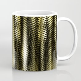 Alien Columns - Pure Gold Coffee Mug