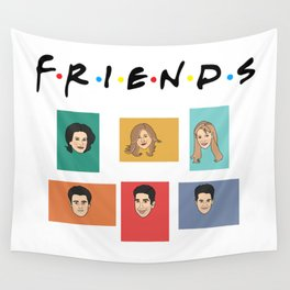 FRIENDS Wall Tapestry