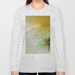 Yellow palm Long Sleeve T-shirt