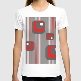 Vintage Retro Graphic grey T-shirt
