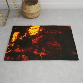 Red Hot FIre Rug