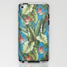 Tropical garden iPhone & iPod Skin