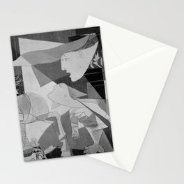 Guernica Pablo Picasso Painting Stationery Cards