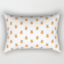 Cute Oranges Pattern Rectangular Pillow