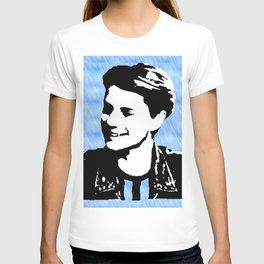 jace norman art print blue T-shirt