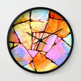 Sandstone wall Deacon PE Wall Clock