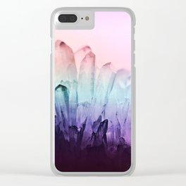 FESTIVAL RAINBOW CRYSTAL Clear iPhone Case