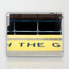 WATCH THE GAP Laptop & iPad Skin