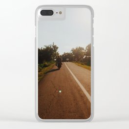 Lombok Surf Check Clear iPhone Case