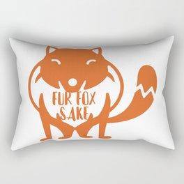 Fur Fox Sake Rectangular Pillow