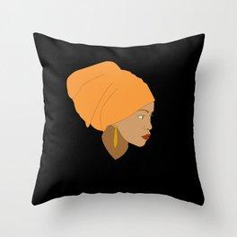 Etiopia Throw Pillow