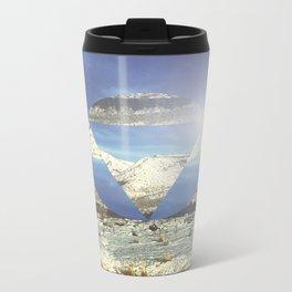 Snowy Earth Metal Travel Mug