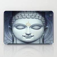 buddah iPad Cases featuring BUDDAH by I Love Decor