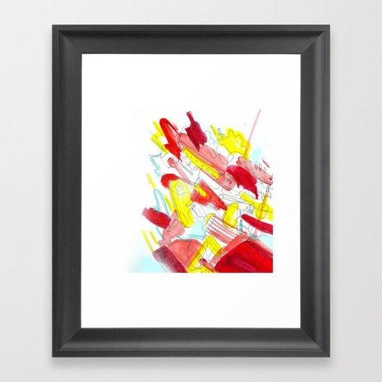 Things II Framed Art Print