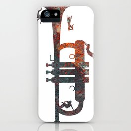 Jazzed iPhone Case