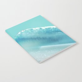 Geode Crystal Turquoise Blue Notebook