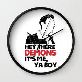 hey demons its me ya boy Wall Clock