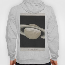 The Trouvelot Astronomical Drawings (1881) - The Planet Saturn, 1874 Hoody