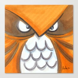 Mood Monster-birds Canvas Print